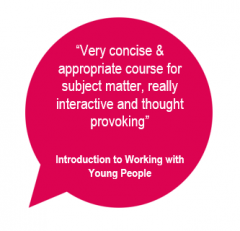 Intro toWorking with Young People