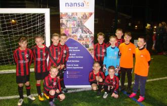 Swanton Morley u0s red with NANSA banner